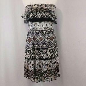 Closet strapless dress